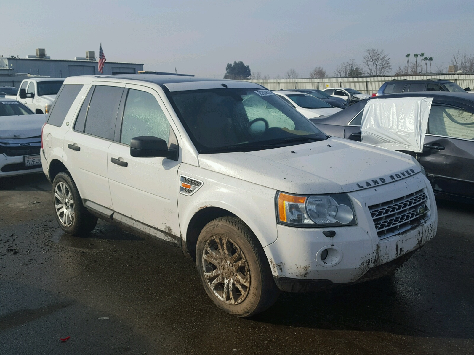 auctions white land sale salvaged title carfinder view cert in rover landrover en se ms online on copart auto right of lot for jackson