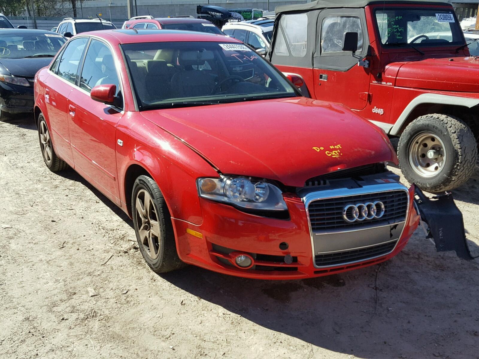 2006 AUDI A4 2 2.0L