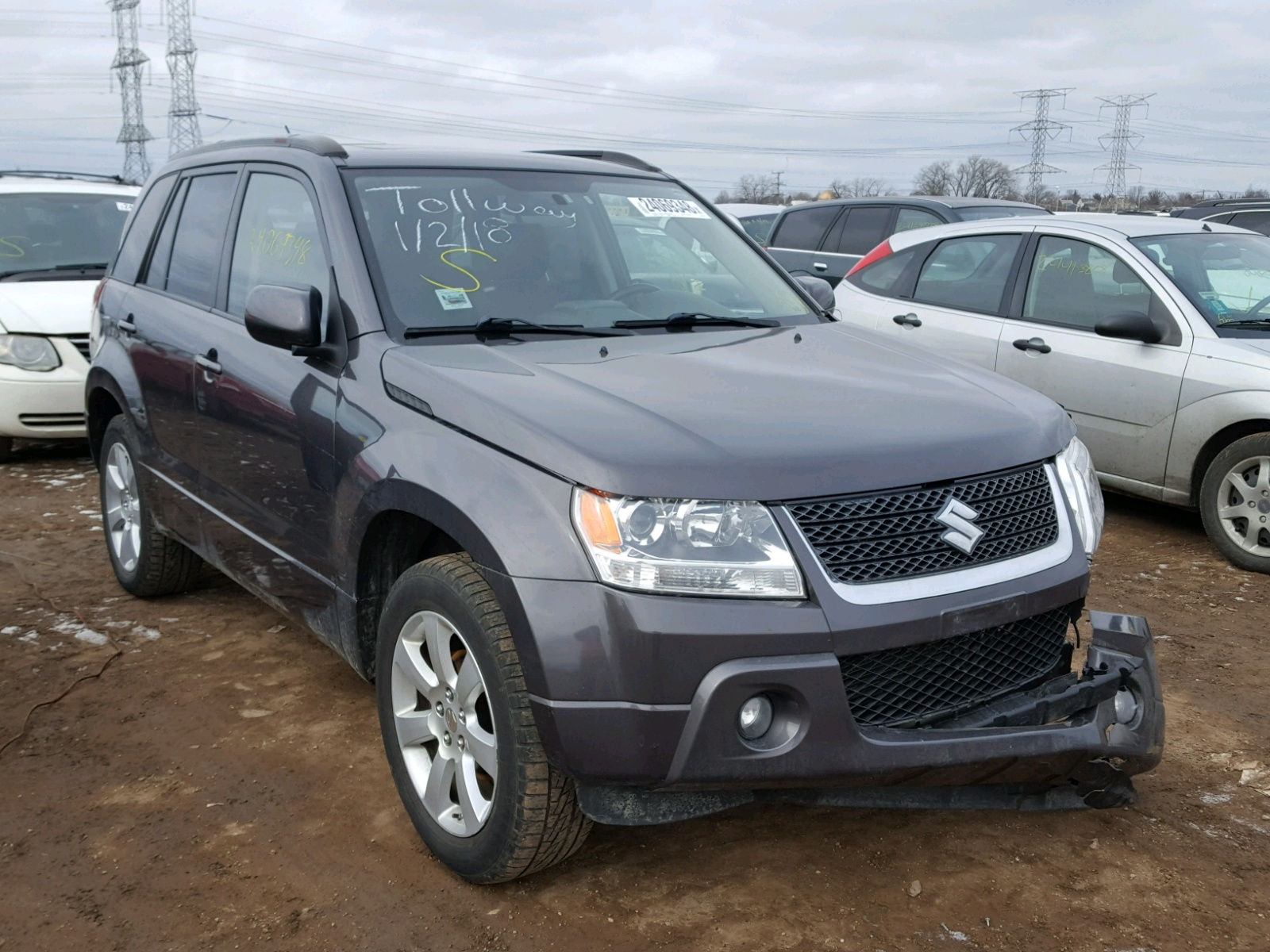 Auto Auction Ended on VIN: JS3TD0D74B4100625 2011 SUZUKI GRAND ...