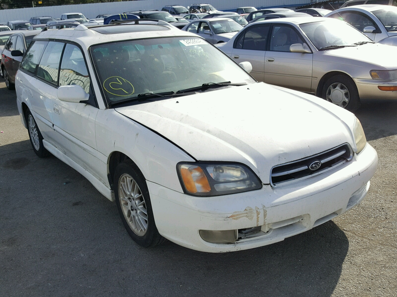 Auto Auction Ended On Vin 4s4bsaccxh3218404 2017 Subaru Outback In 2000 Legacy Gt 25l