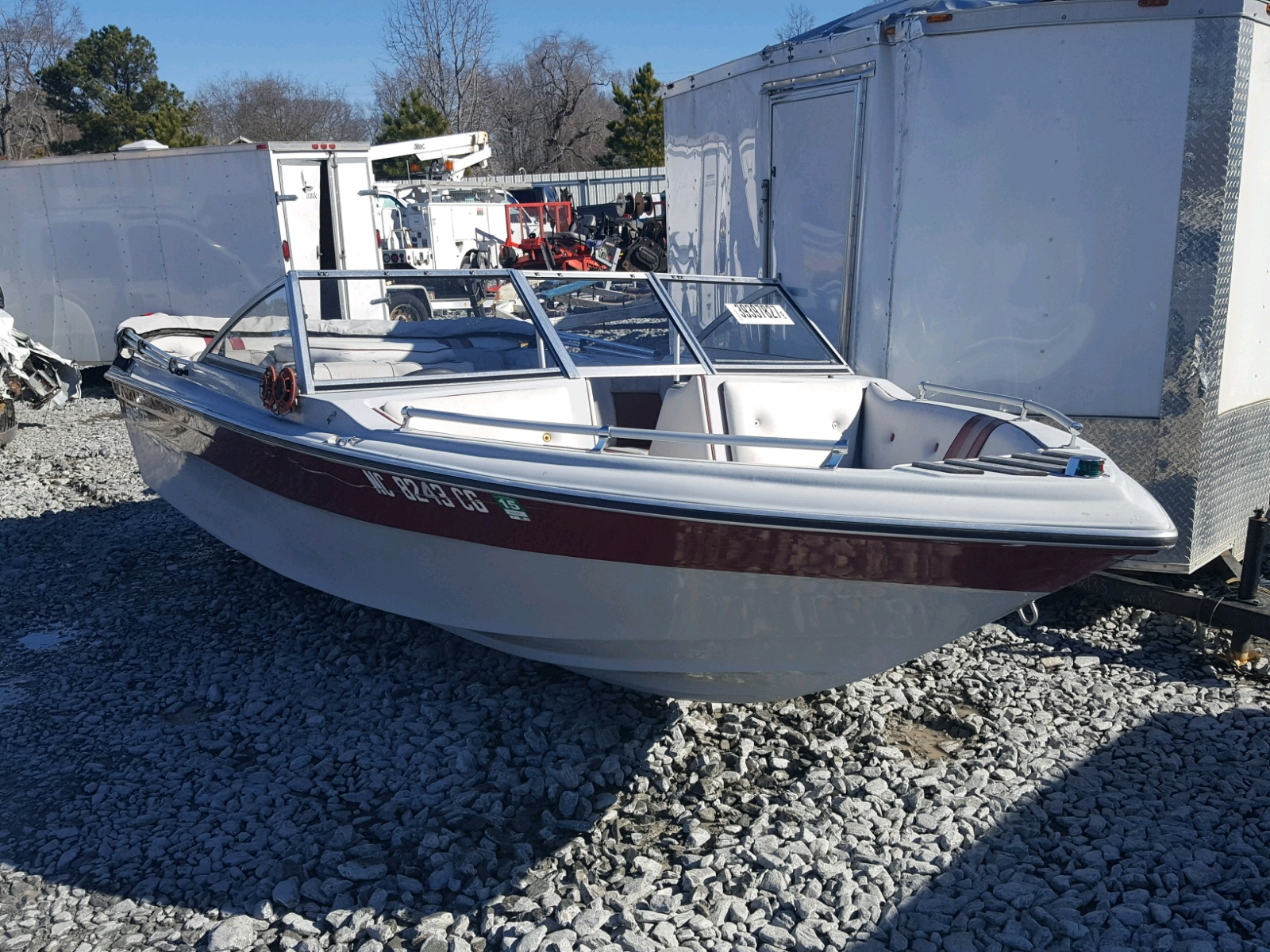 Salvage 1989 Boat BOAT for sale