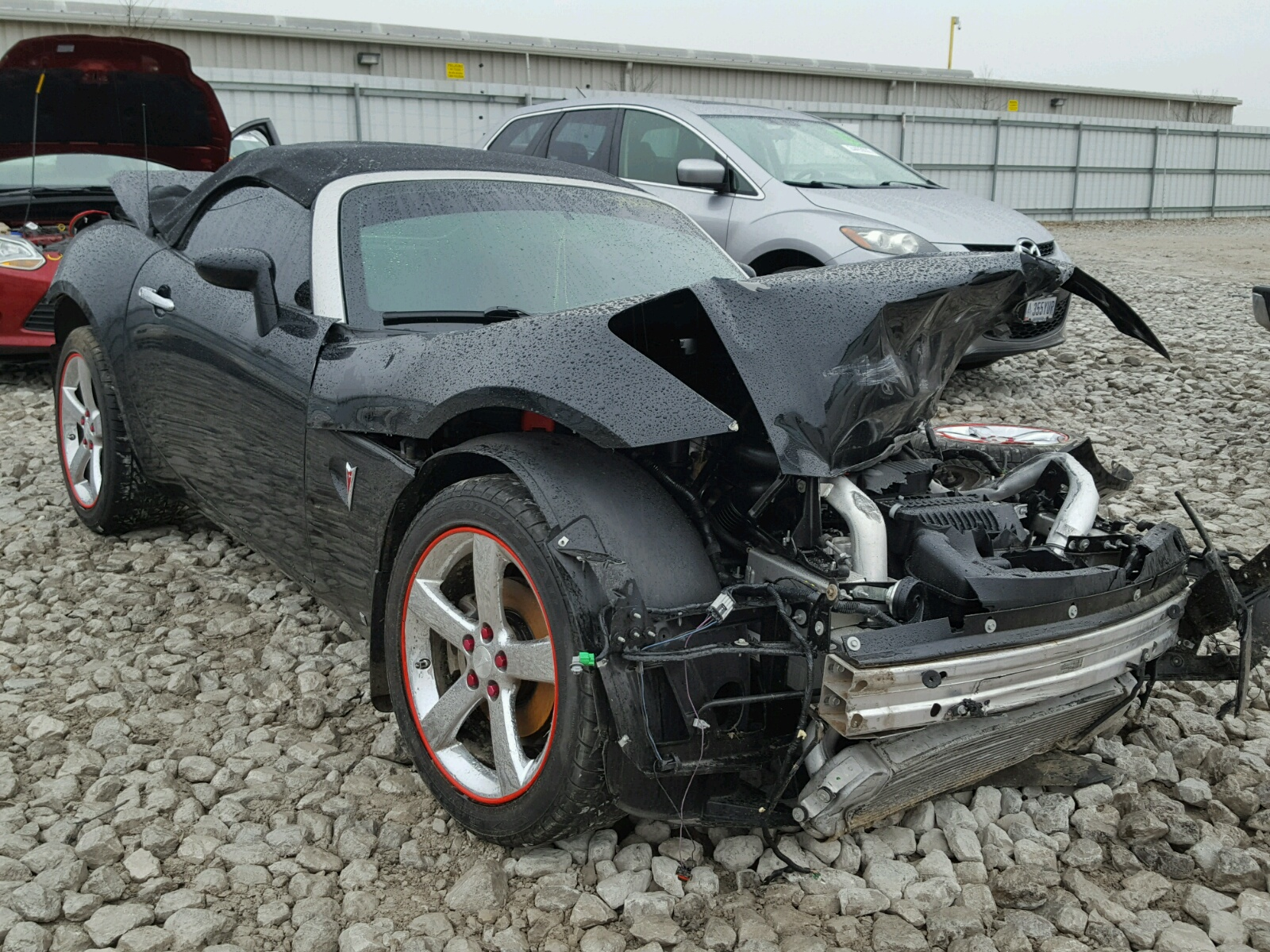 For Sale Northern California 2006 Pontiac Solstice 2 4l: Auto Auction Ended On VIN: 1G2MN35B29Y103096 2009 PONTIAC