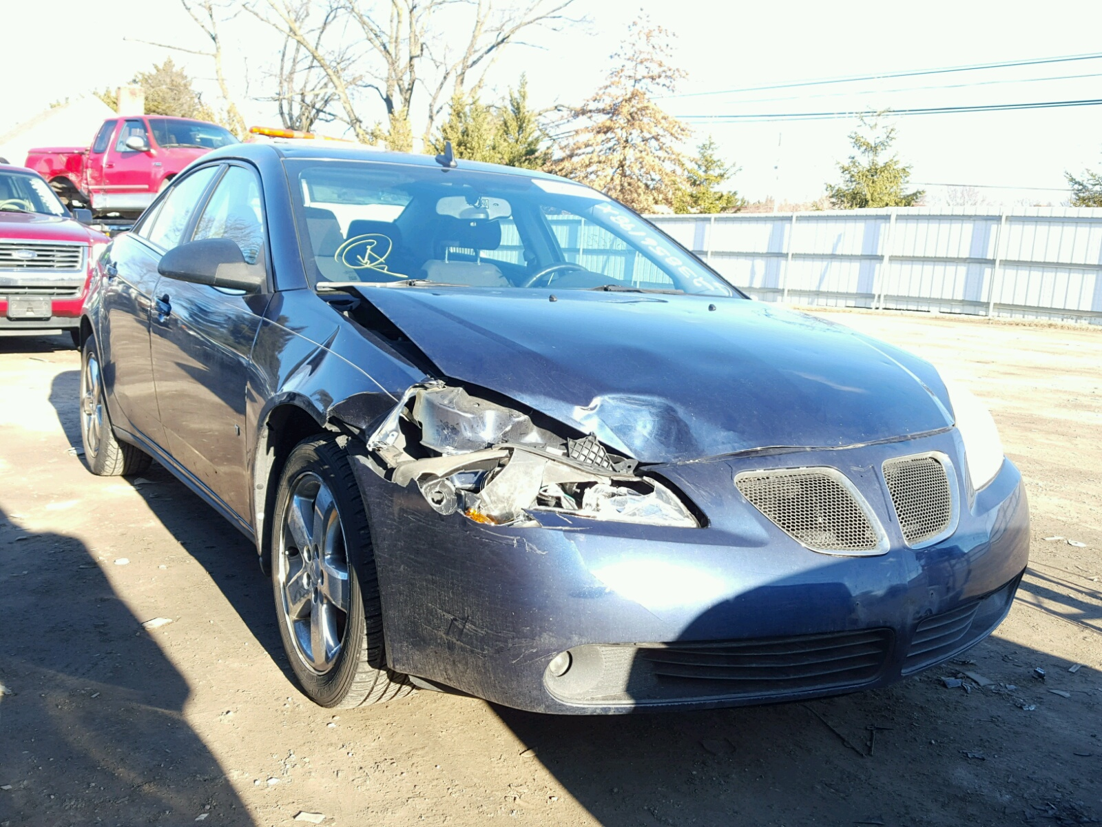 Auto Auction Ended on VIN 1G2ZH57N 2008 PONTIAC G6 GT in