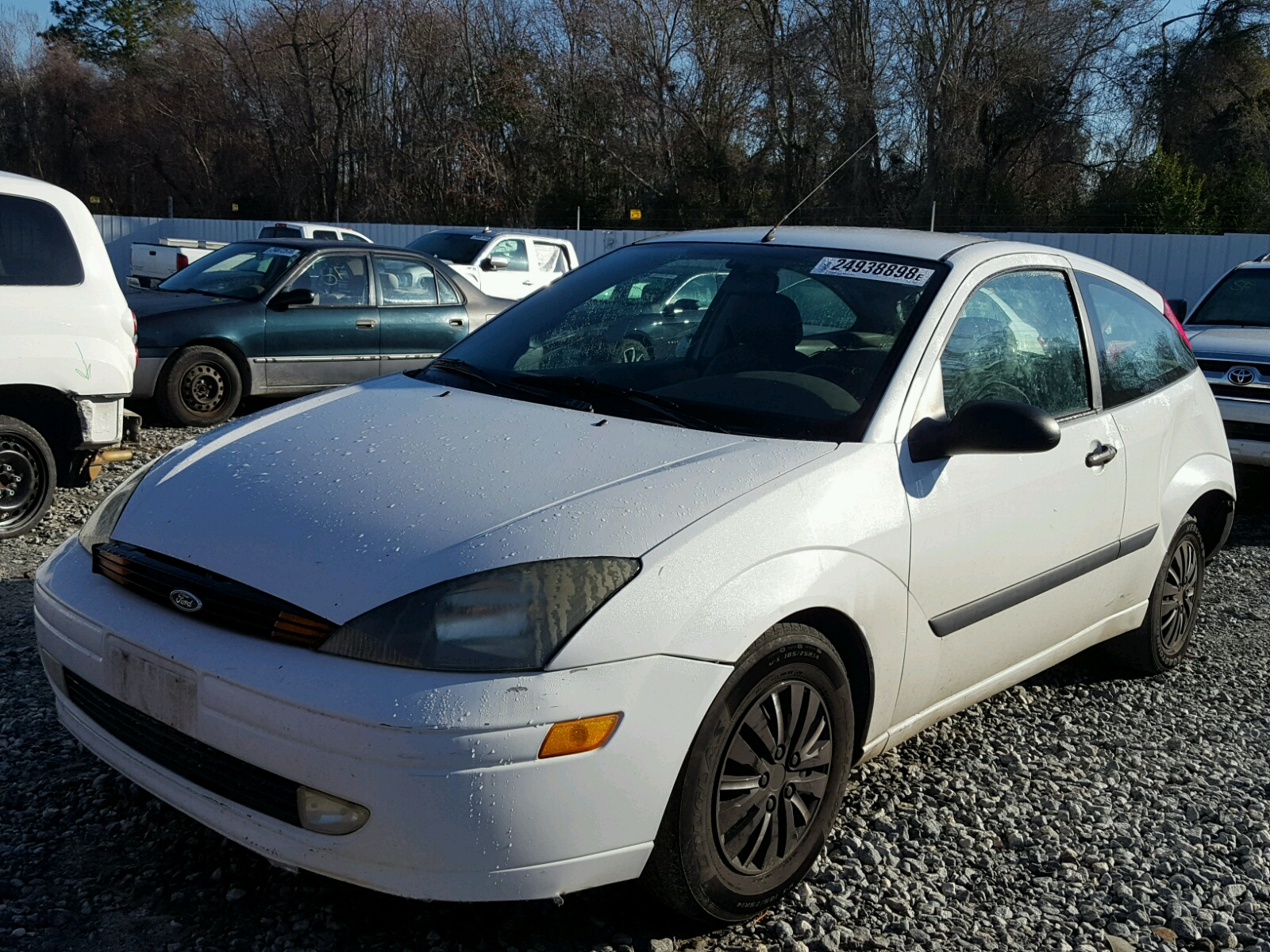 2003 ford focus zx3 2