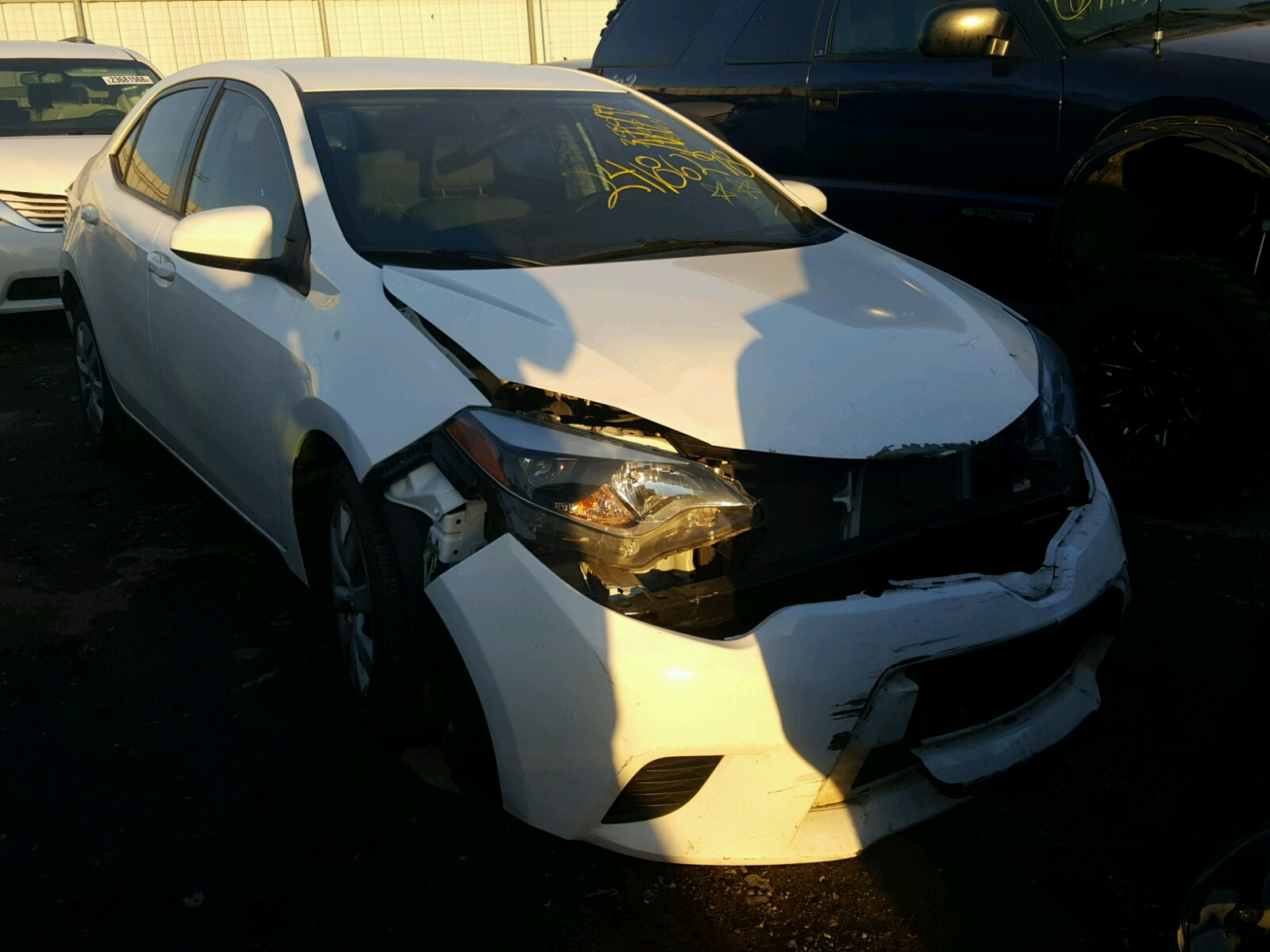 Auto Auction Ended on VIN 2T1BURHE5EC 2014 TOYOTA COROLLA L