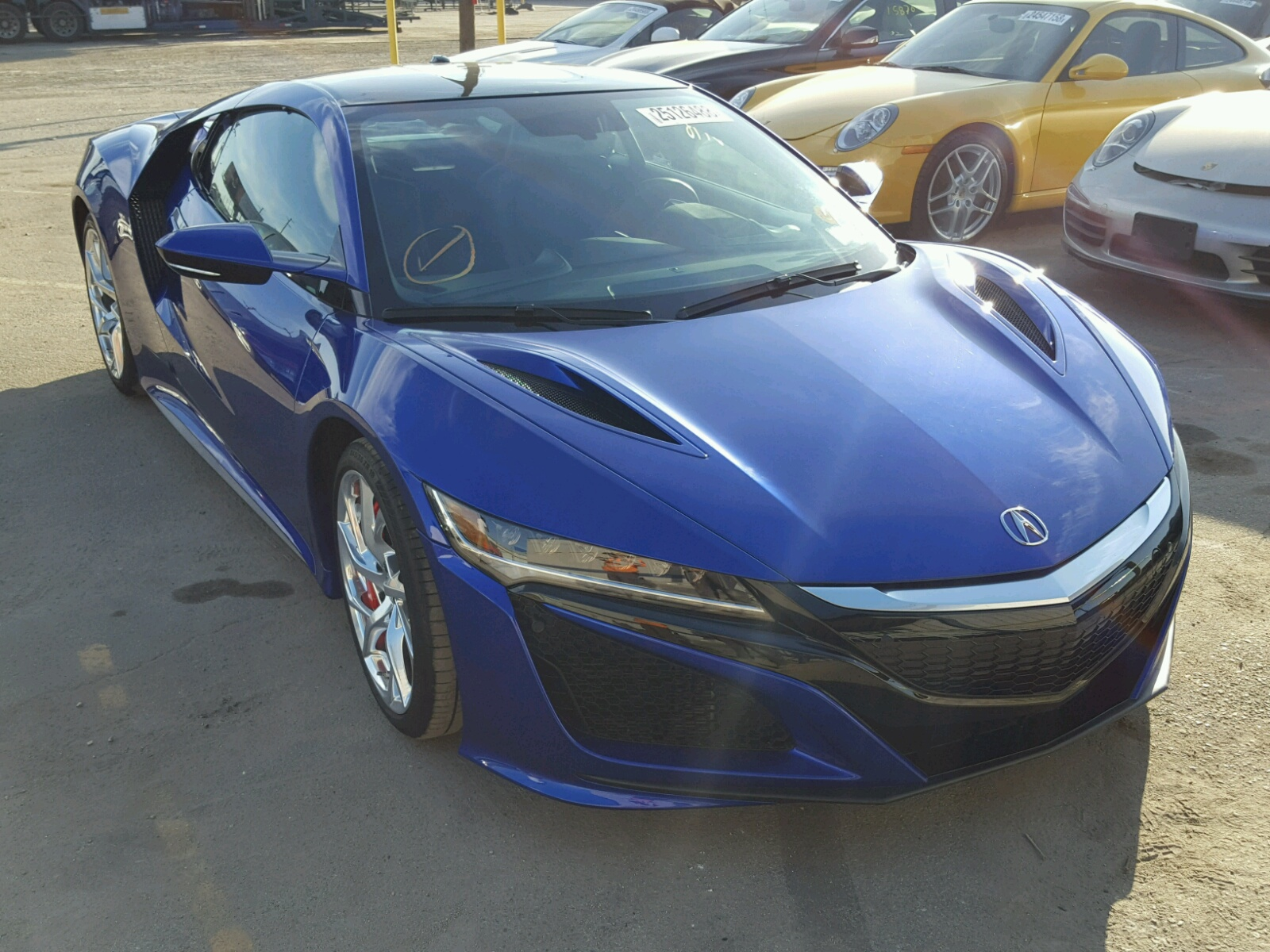 2017 Acura Nsx For Sale At Copart Los Angeles Ca Lot 25126488