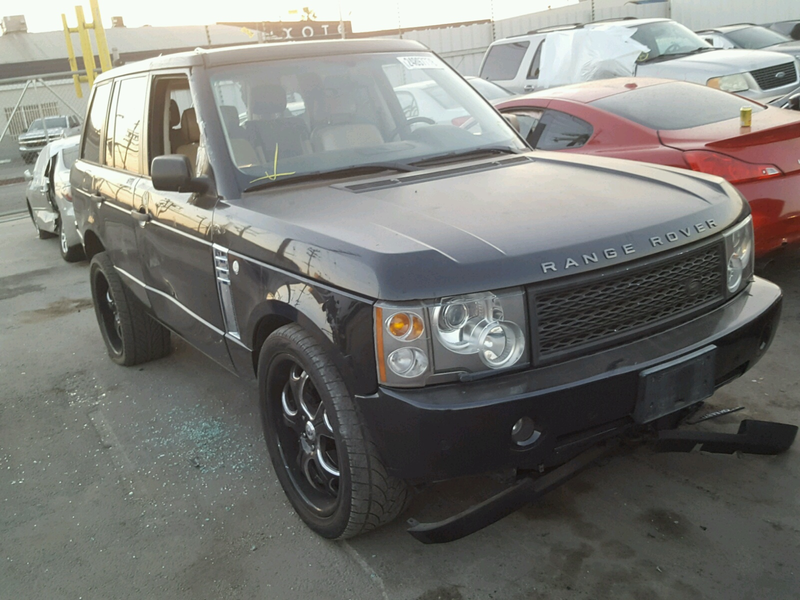 Auto Auction Ended on VIN SALME114X3A 2003 LAND ROVER RANGE