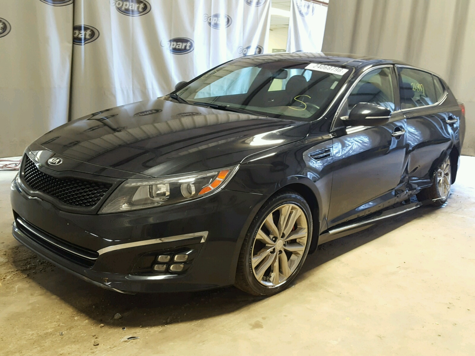 lot sx auto baltimore optima kia on view online auctions en sale carfinder rear copart gray md in of title certificate