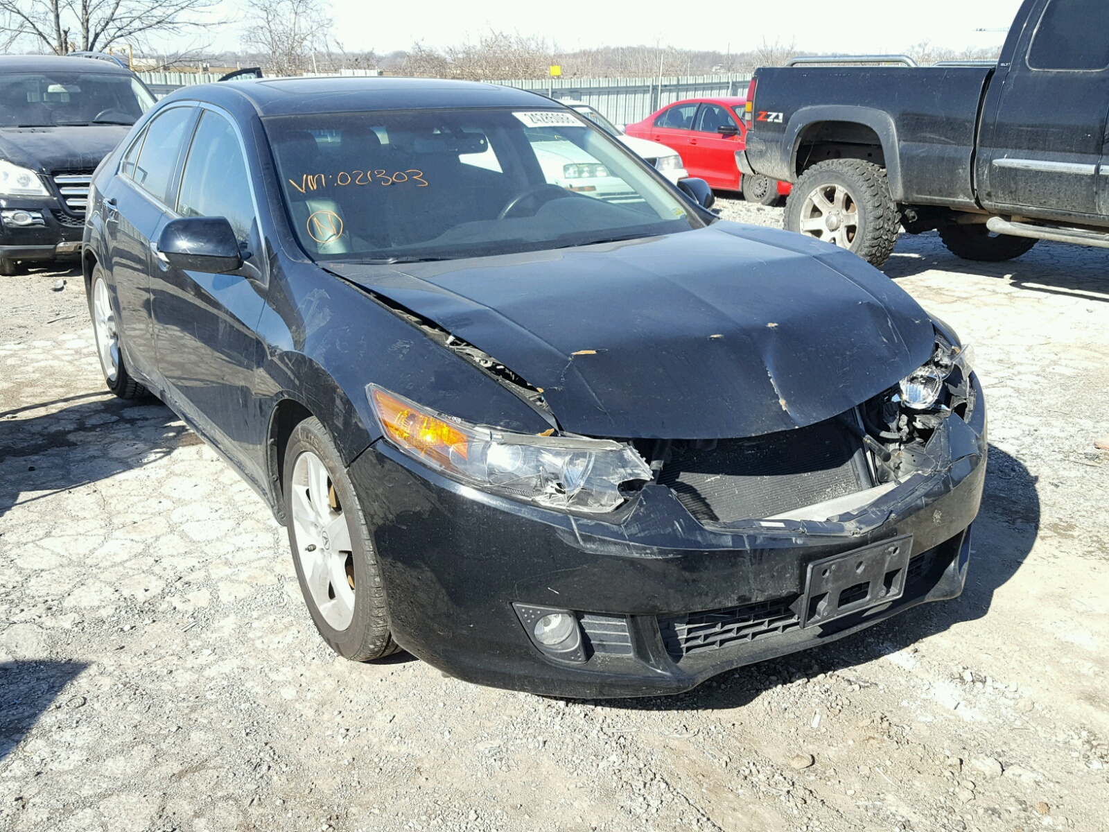Auto Auction Ended on VIN JH4CU2F61AC 2010 ACURA TSX in KS