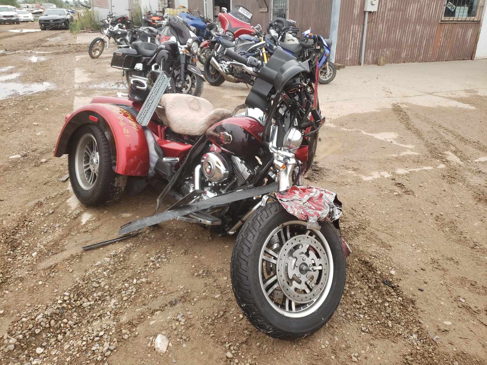 2012 Harley-Davidson Flhtcutg T