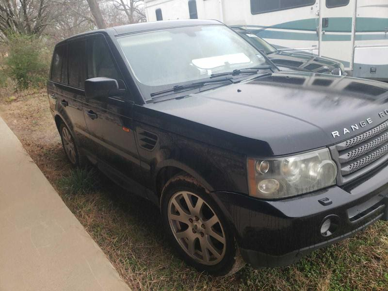 Salvage cars for sale from Copart Haslet, TX: 2007 Land Rover Range Rover