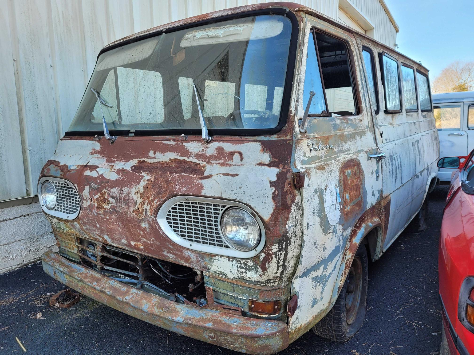 Salvage cars for sale from Copart Lebanon, TN: 1967 Ford Econoline