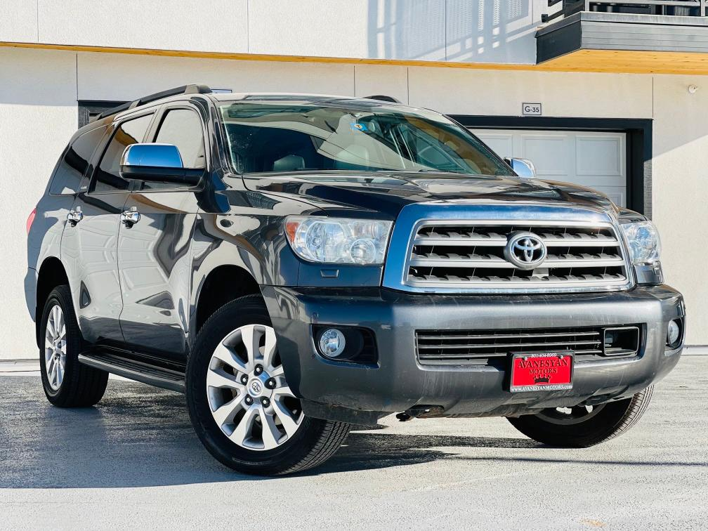 Vehiculos salvage en venta de Copart Brighton, CO: 2014 Toyota Sequoia PL