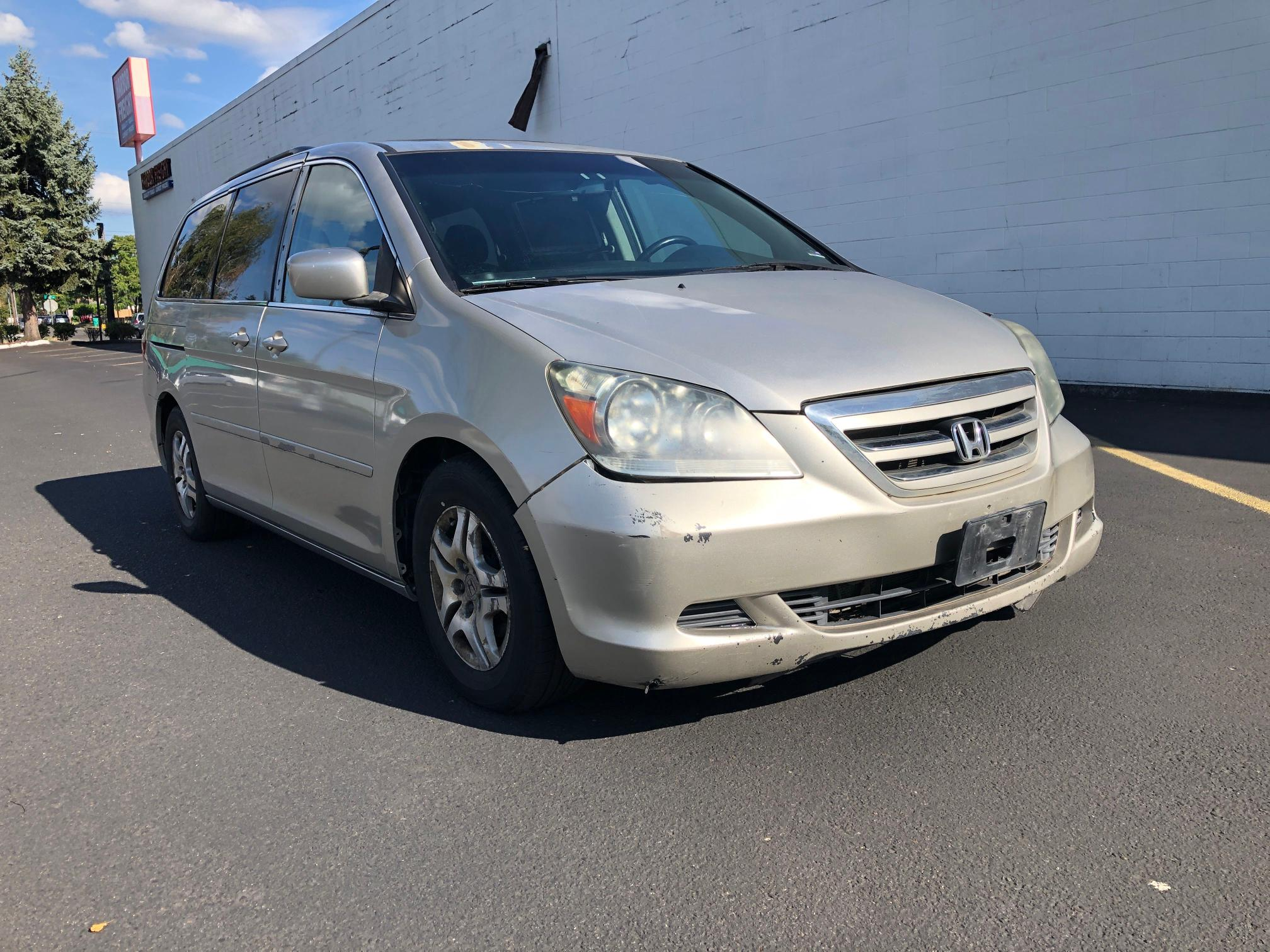 Salvage cars for sale from Copart Portland, OR: 2007 Honda Odyssey EX