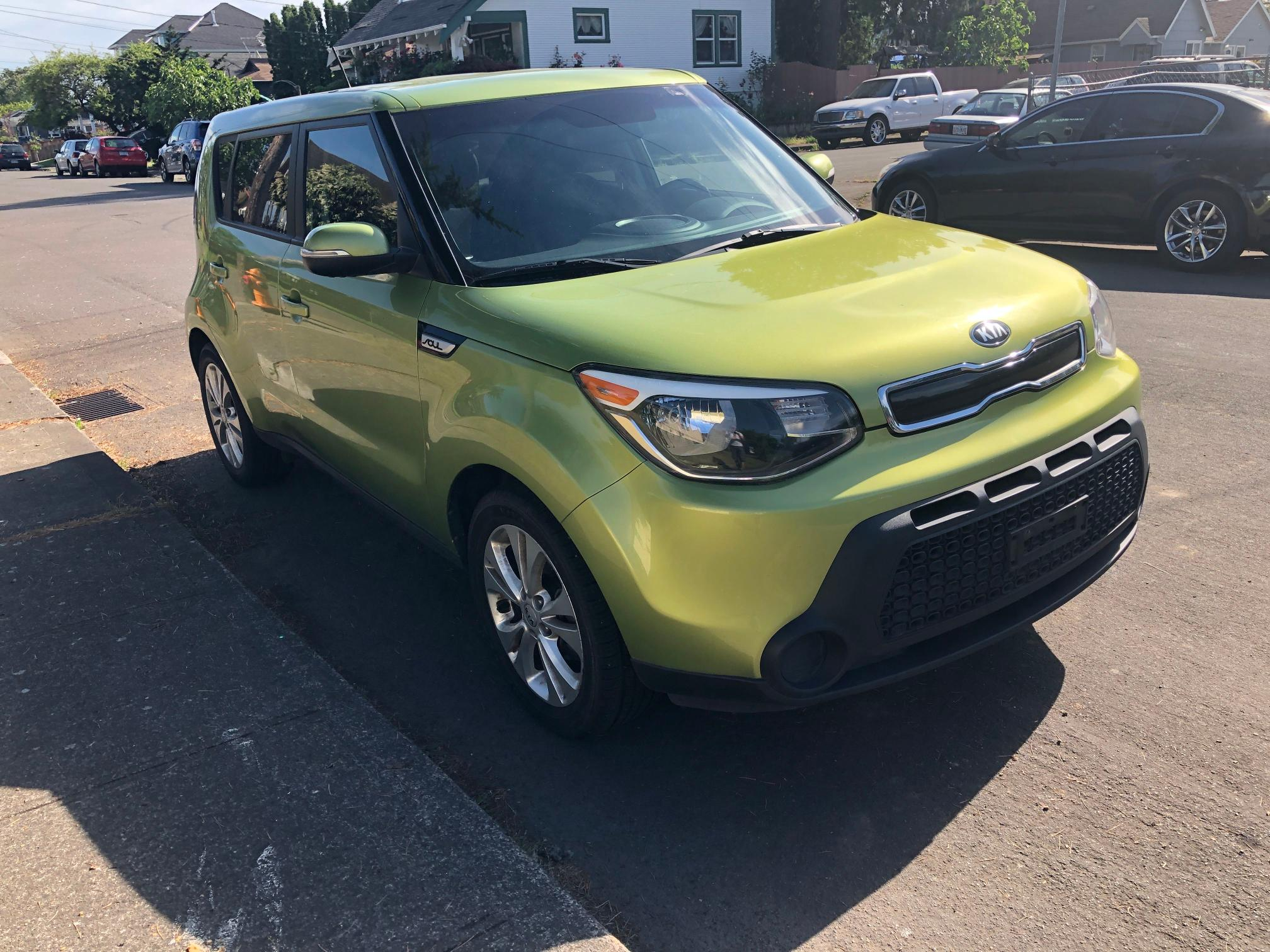 Salvage cars for sale from Copart Portland, OR: 2014 KIA Soul +
