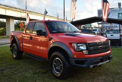 Salvage cars for sale from Copart Miami, FL: 2010 Ford F150 Super