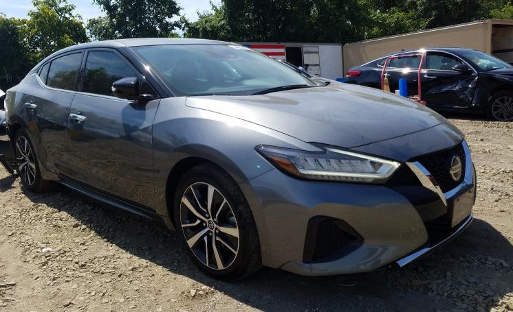 Nissan Maxima salvage cars for sale: 2020 Nissan Maxima
