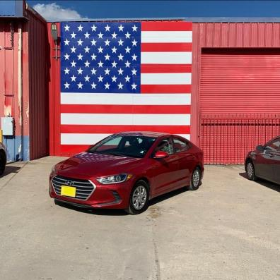 из сша 2017 Hyundai Elantra Se 2.0L KMHD74LF8HU173608