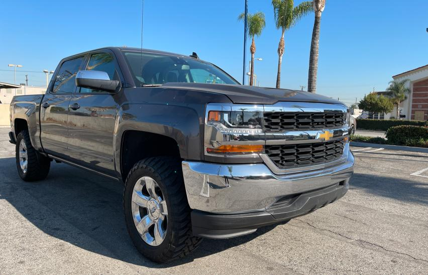 Salvage cars for sale from Copart Rancho Cucamonga, CA: 2016 Chevrolet Silverado