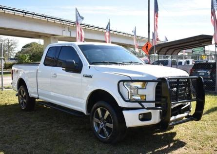 Salvage cars for sale from Copart Miami, FL: 2016 Ford F150 Super