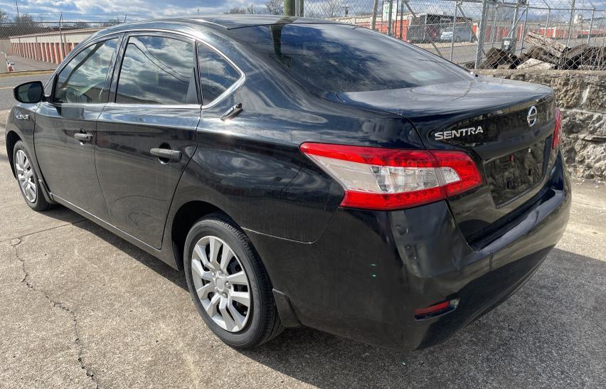 купить 2014 Nissan Sentra S 1.8L 3N1AB7AP8EY253196
