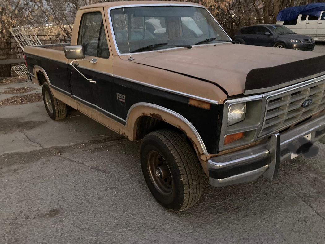 FORD F150 1984 0