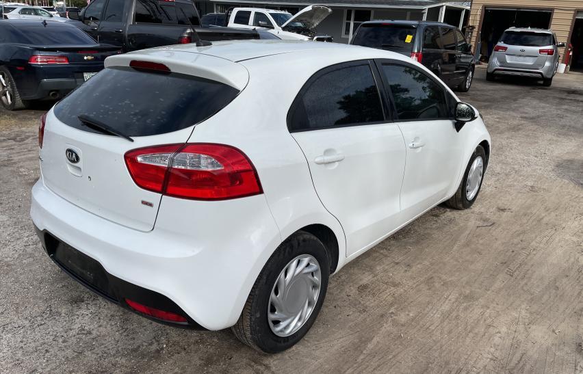 цена в сша 2013 Kia Rio Lx 1.6L KNADM5A30D6296679