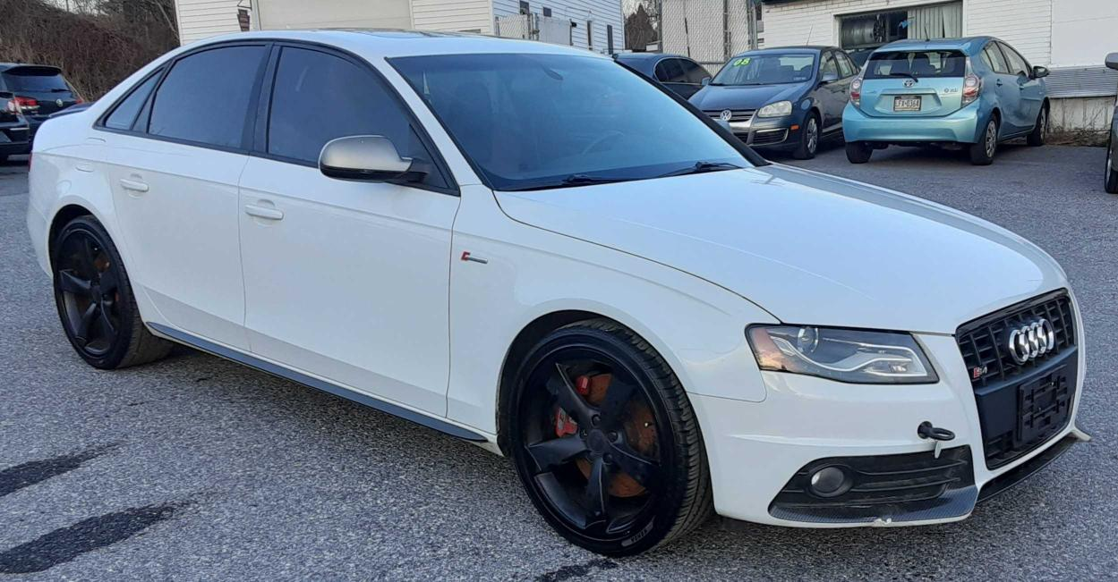 Salvage cars for sale from Copart York Haven, PA: 2012 Audi S4 Prestige