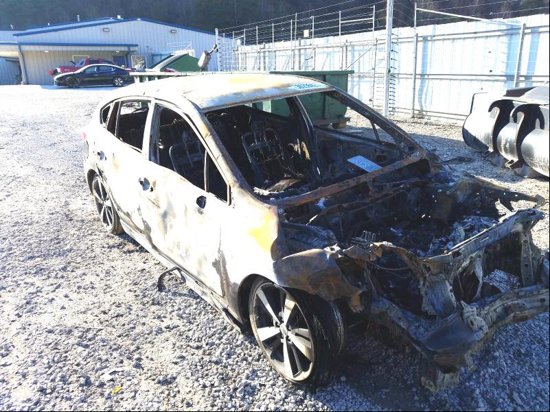 Salvage cars for sale from Copart Hurricane, WV: 2017 Subaru Impreza SP