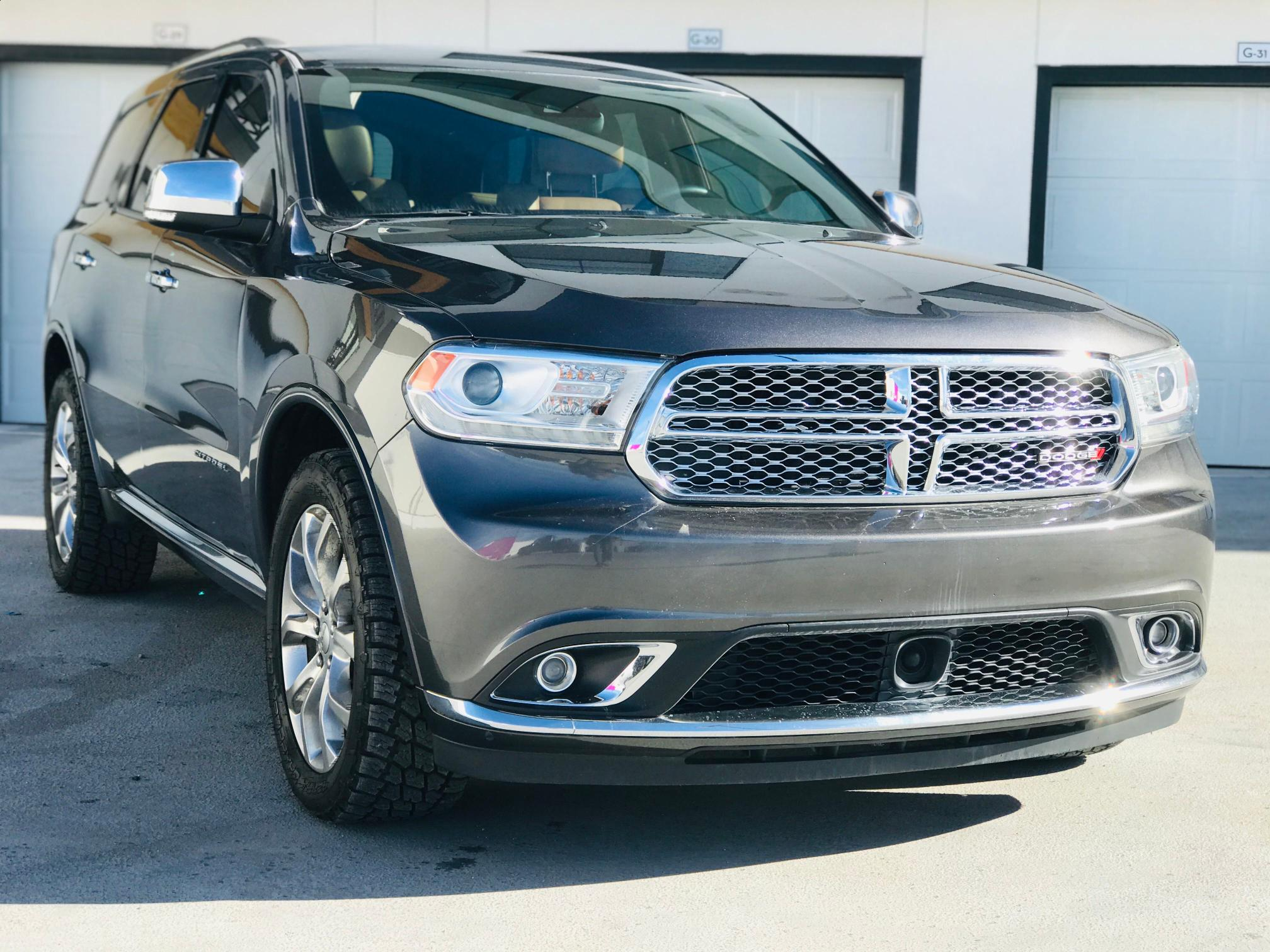 Vehiculos salvage en venta de Copart Brighton, CO: 2017 Dodge Durango CI