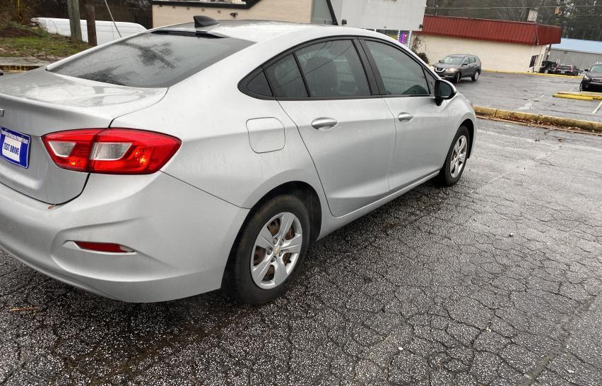 цена в сша 2017 Chevrolet Cruze Ls 1.4L 1G1BC5SM3H7110534