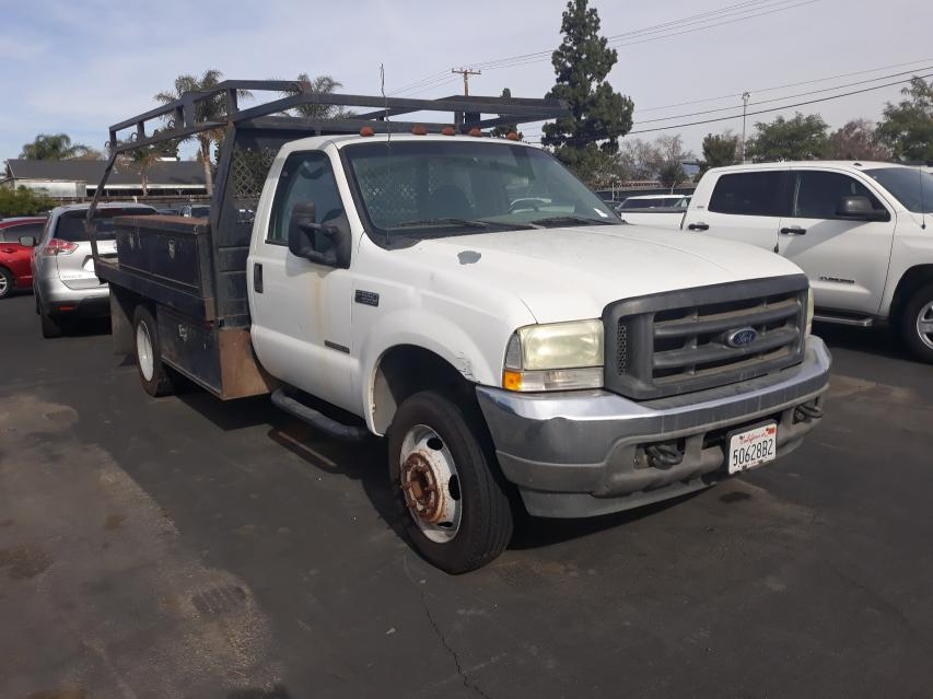 Salvage cars for sale from Copart Rancho Cucamonga, CA: 2003 Ford F550 Super