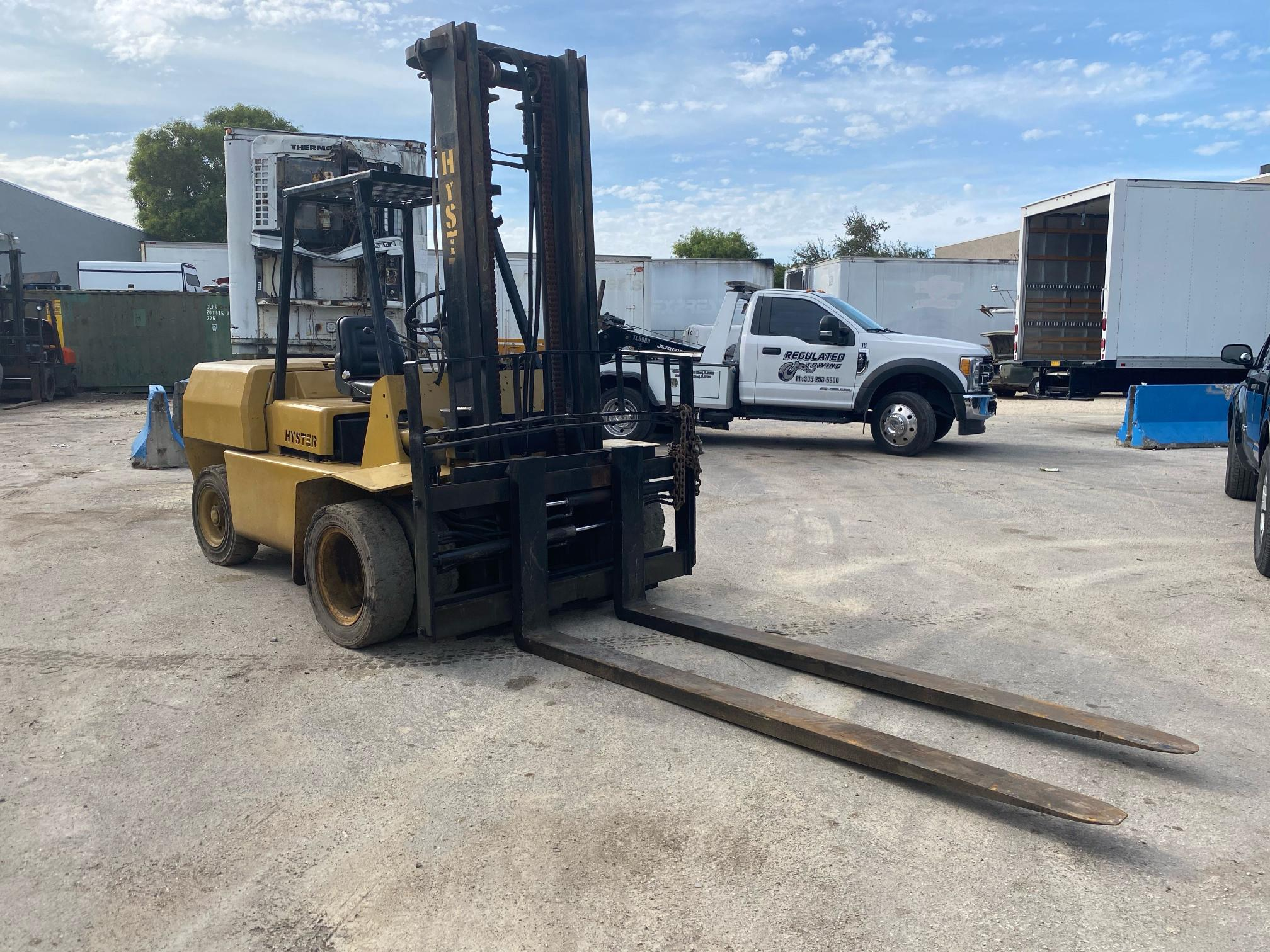 2002 Hyster Forklift for sale in Homestead, FL