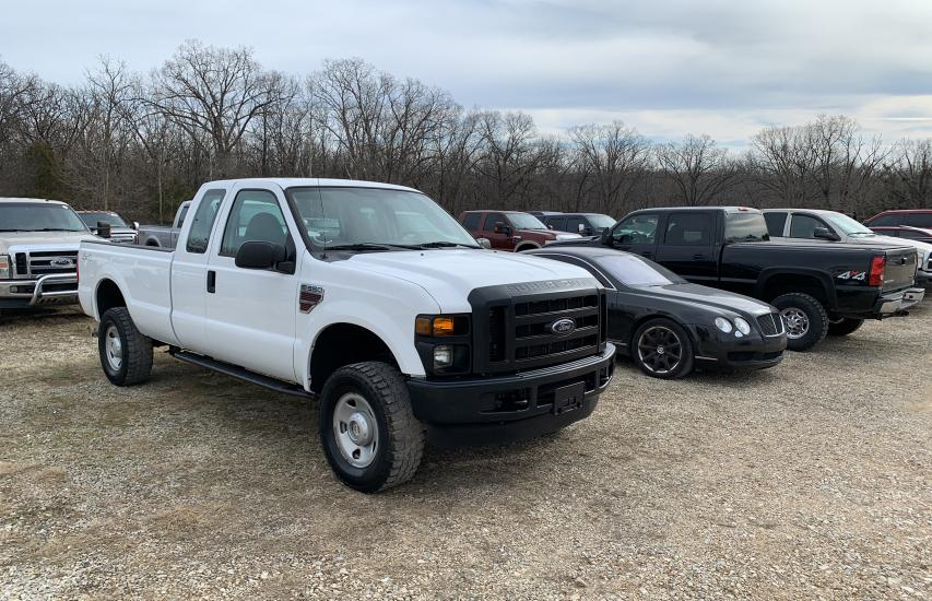 Salvage cars for sale from Copart Rogersville, MO: 2008 Ford F350 SRW S