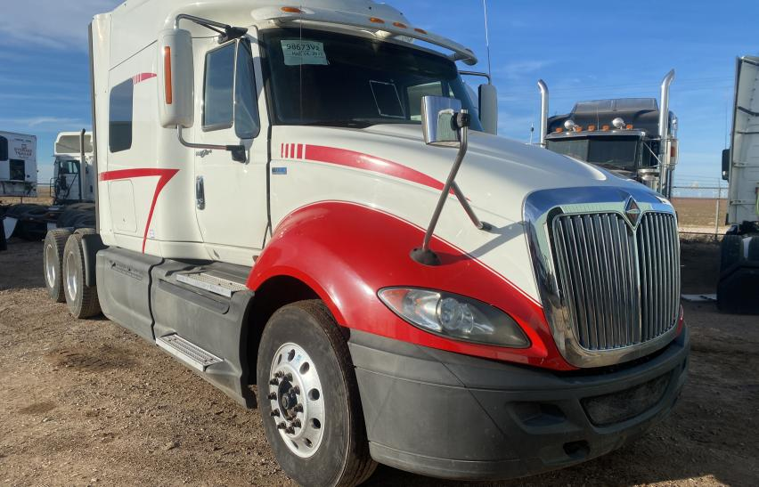 Salvage cars for sale from Copart Amarillo, TX: 2014 International Prostar