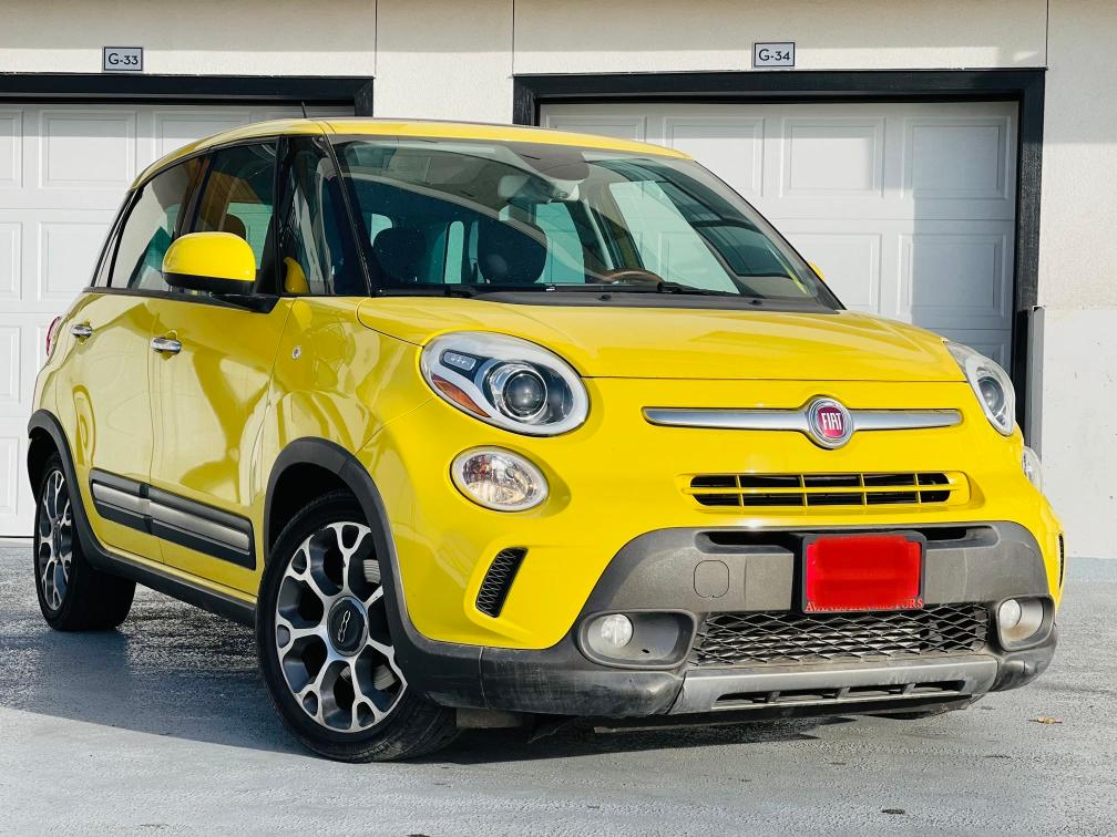 Fiat salvage cars for sale: 2014 Fiat 500L Trekk
