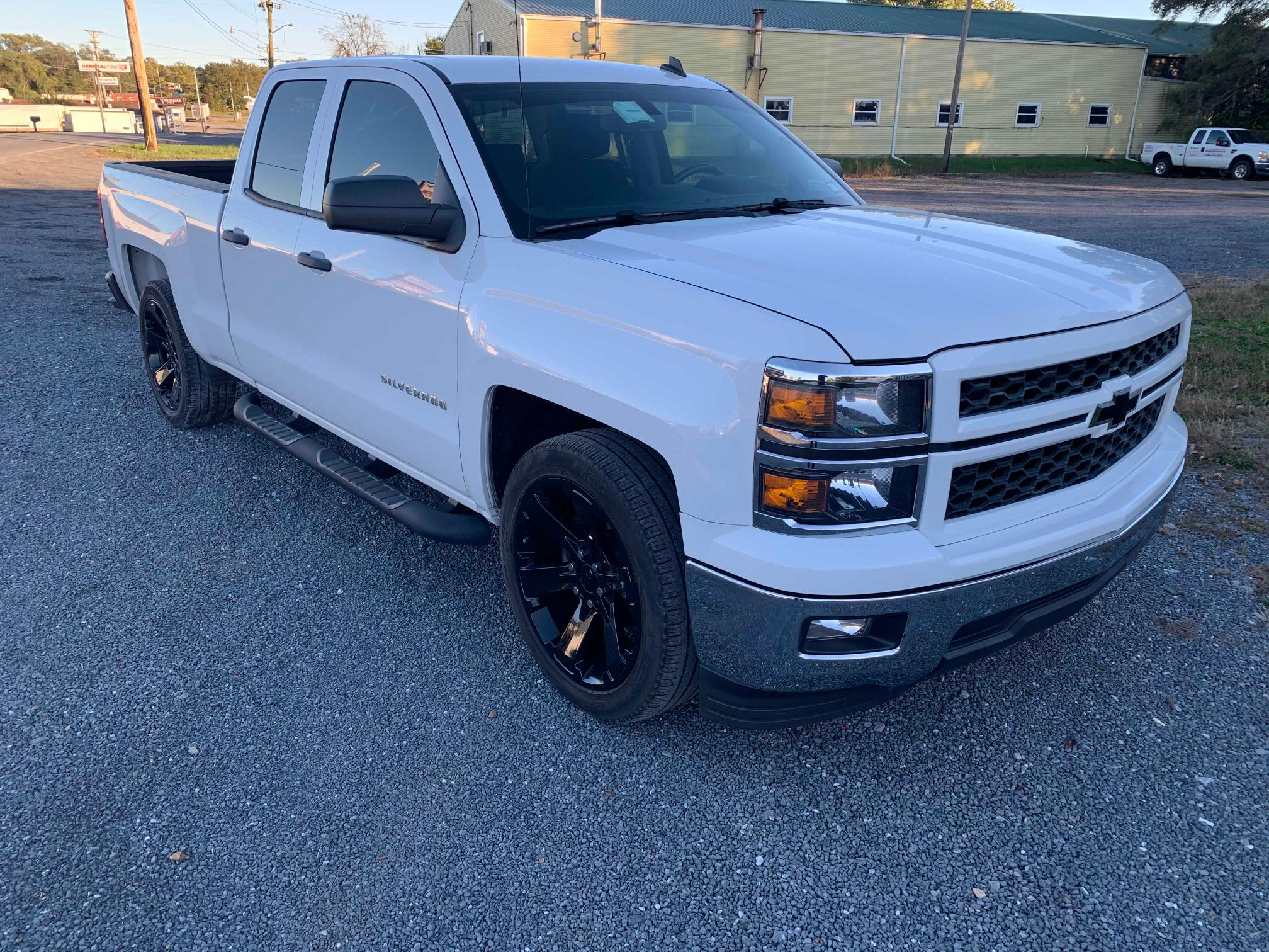 Salvage cars for sale from Copart Sandston, VA: 2014 Chevrolet Silverado