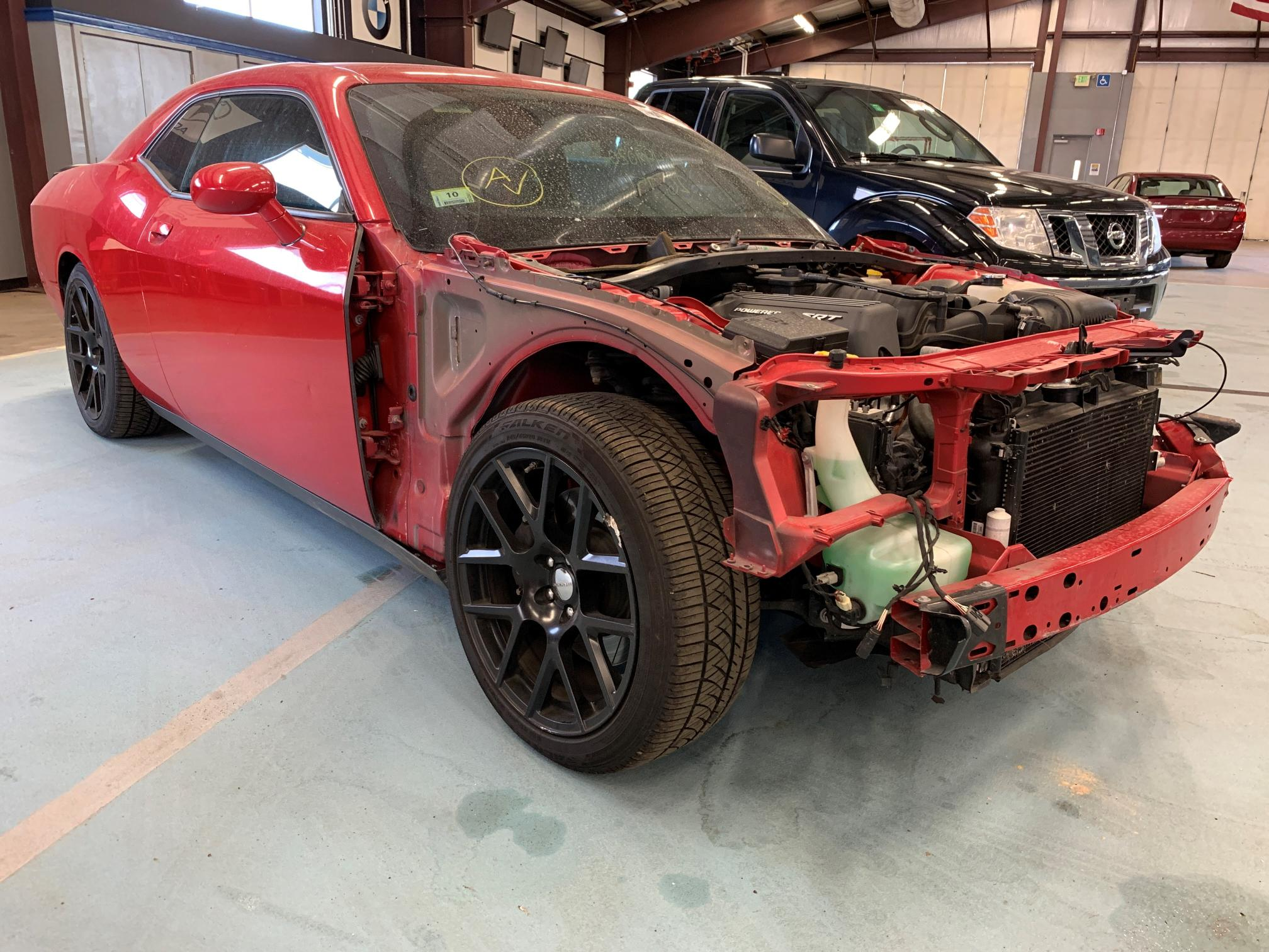 Salvage cars for sale from Copart East Granby, CT: 2015 Dodge Challenger
