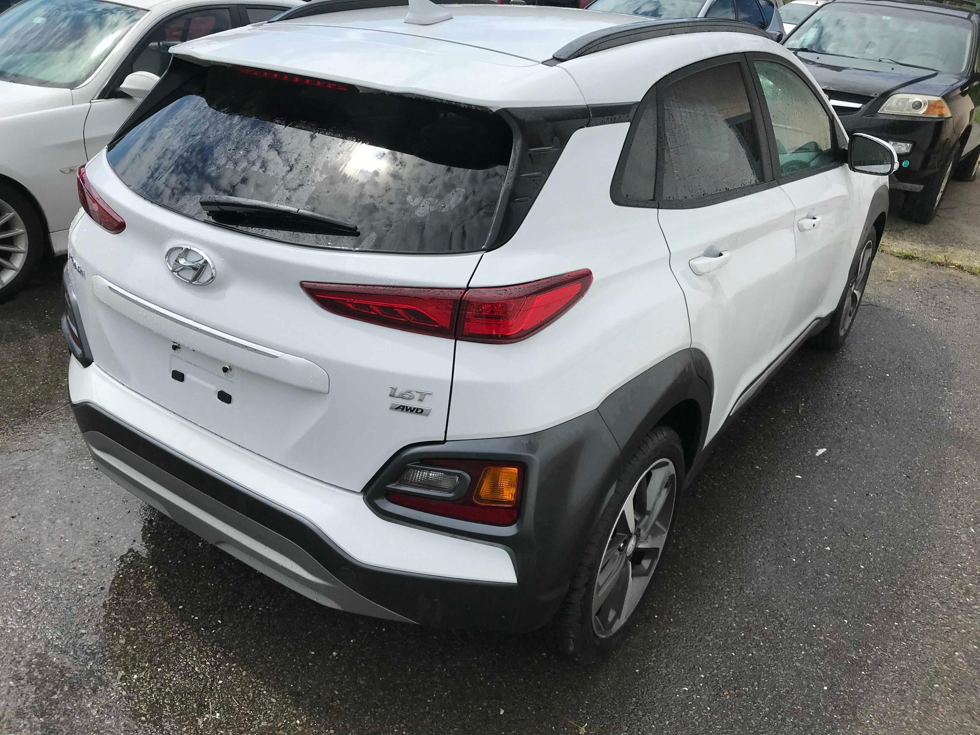 цена в сша 2020 Hyundai Kona Limit 1.6L KM8K3CA51LU466492