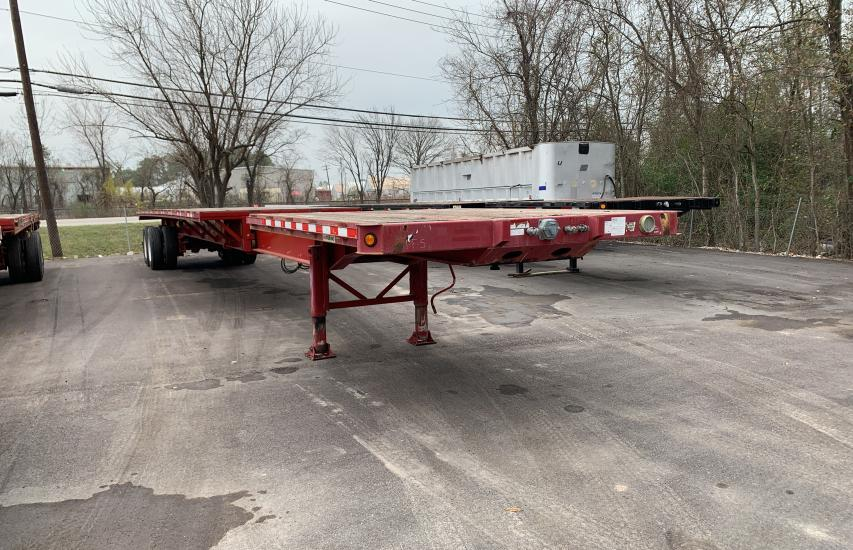 Manac Inc Trailer salvage cars for sale: 2007 Manac Inc Trailer