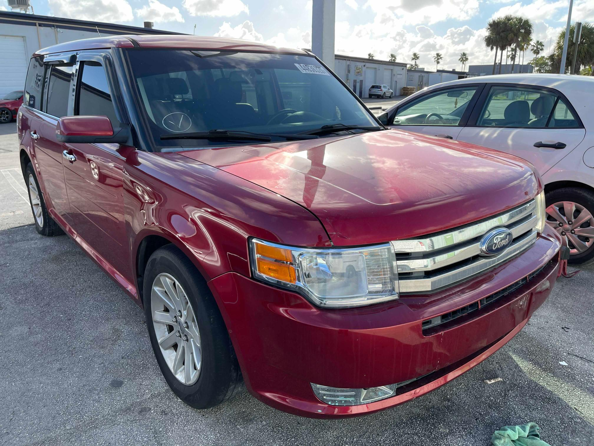 Salvage cars for sale from Copart Homestead, FL: 2010 Ford Flex SEL