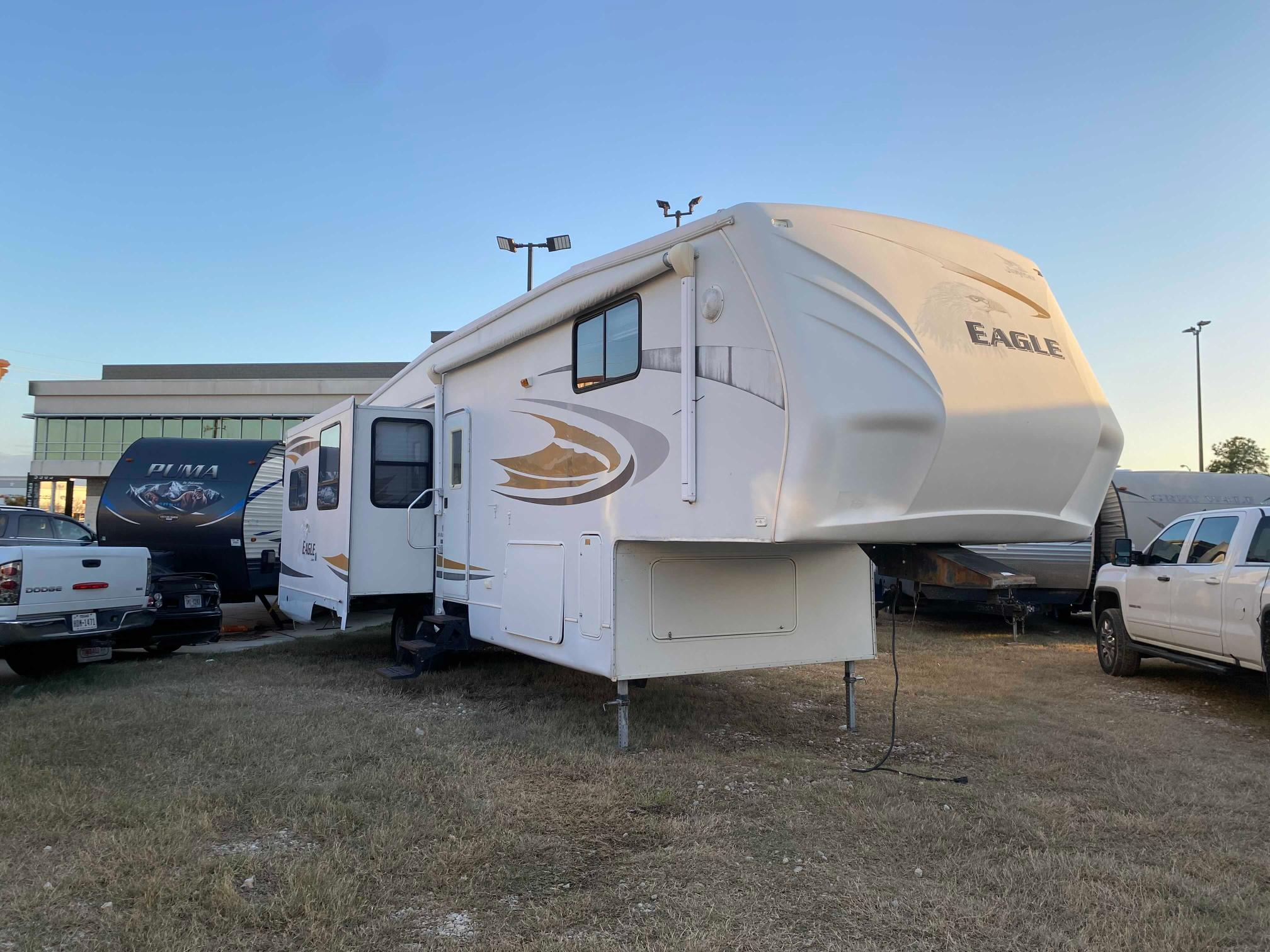 Jayco salvage cars for sale: 2007 Jayco Trailer