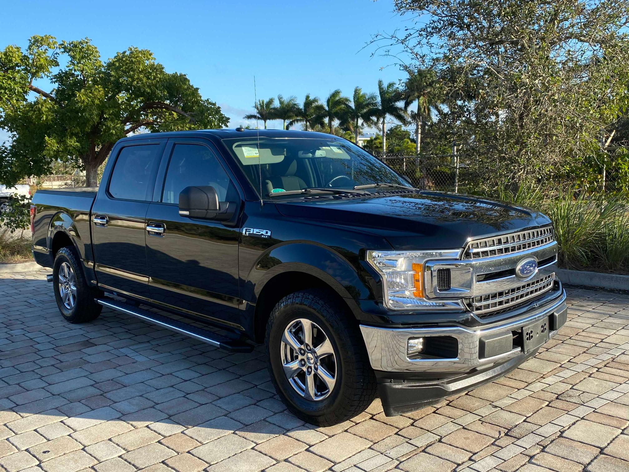 Salvage cars for sale from Copart Homestead, FL: 2018 Ford F150 Super