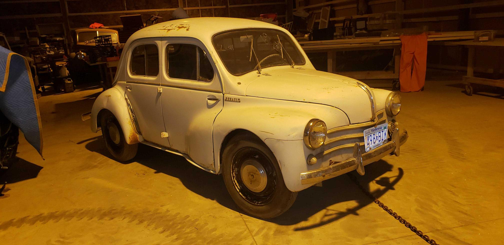 Renault salvage cars for sale: 1959 Renault Other