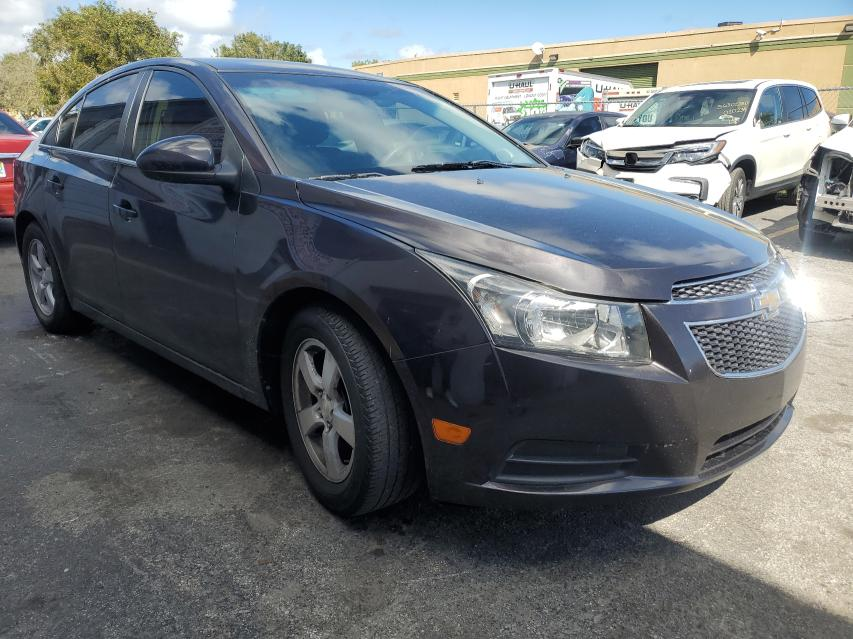 Salvage cars for sale from Copart Homestead, FL: 2015 Chevrolet Cruze LT