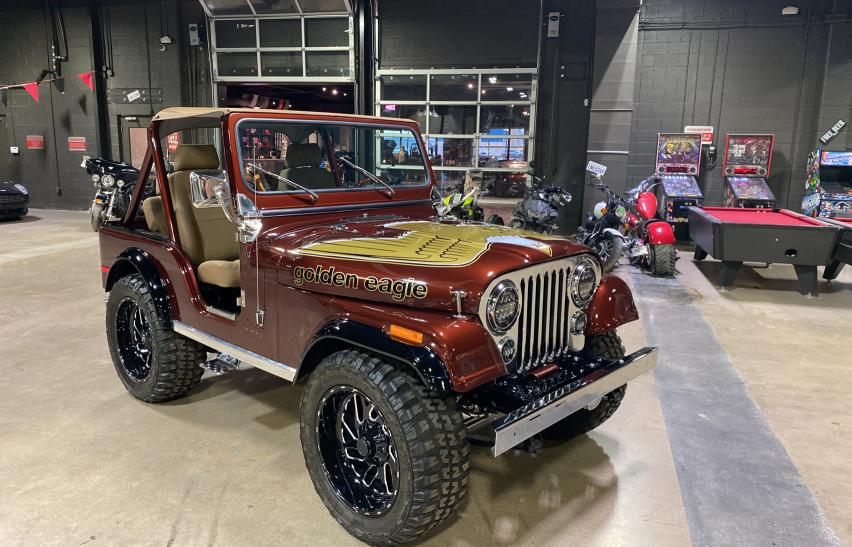 Salvage cars for sale from Copart Dallas, TX: 1979 Jeep CJ-5