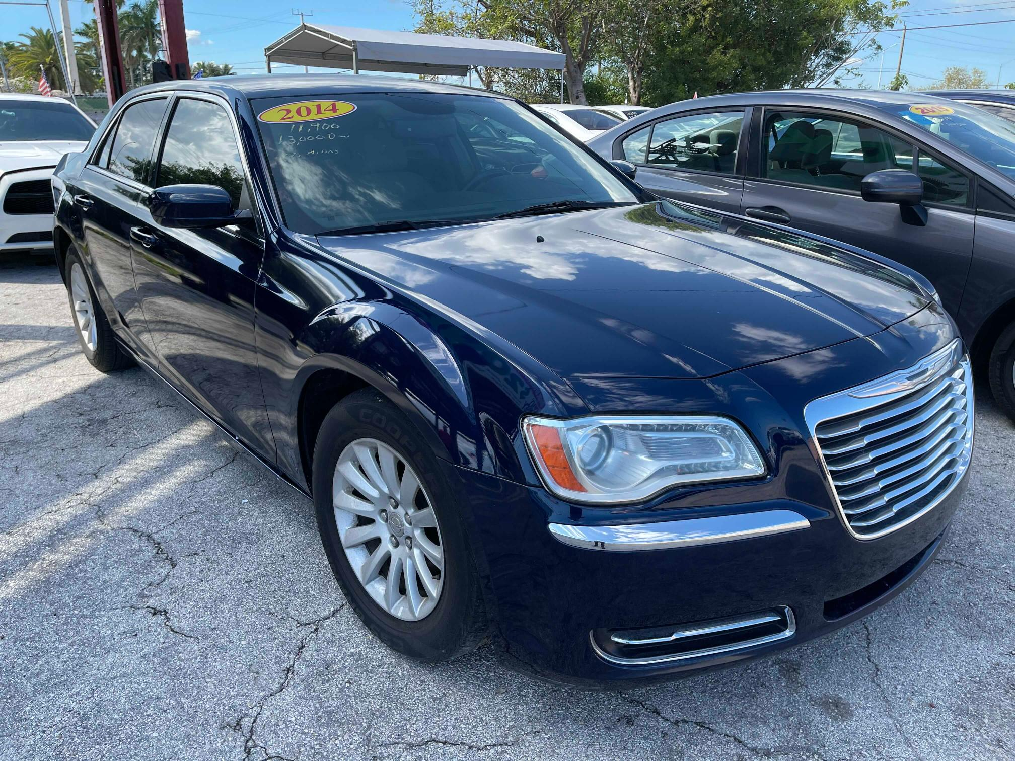 Salvage cars for sale from Copart Homestead, FL: 2014 Chrysler 300