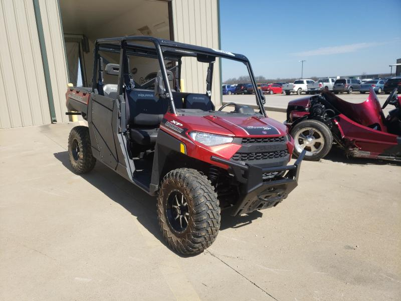 Salvage cars for sale from Copart Wilmer, TX: 2019 Polaris Ranger CRE
