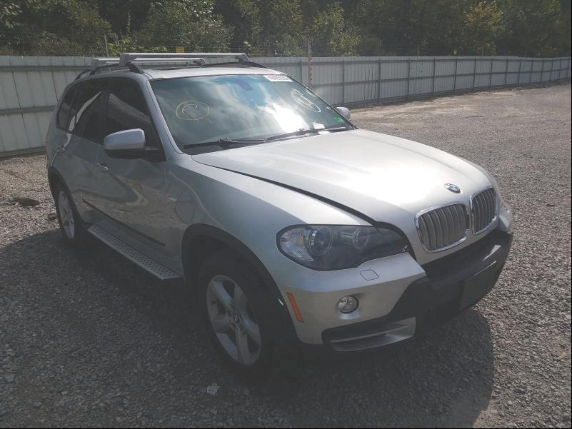 Salvage cars for sale from Copart Hurricane, WV: 2008 BMW X5 3.0I