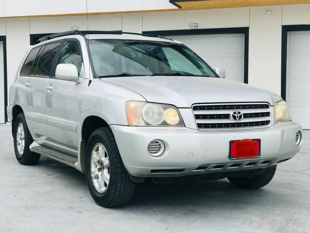 Salvage cars for sale from Copart Magna, UT: 2002 Toyota Highlander